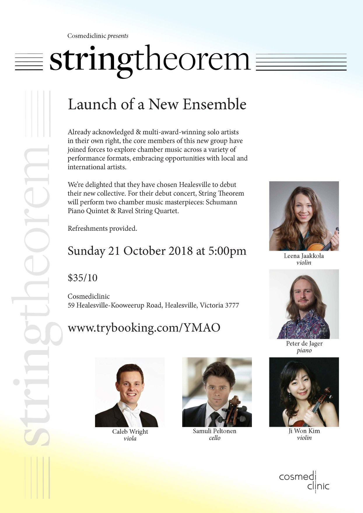 21.10. String Theorem: Launch of a New Ensemble